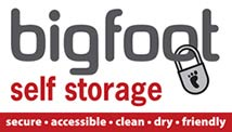 Bigfoot Self Storage logo