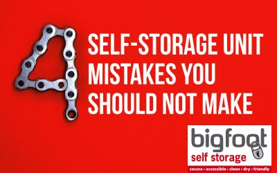 4 self storage mistakes you should not make