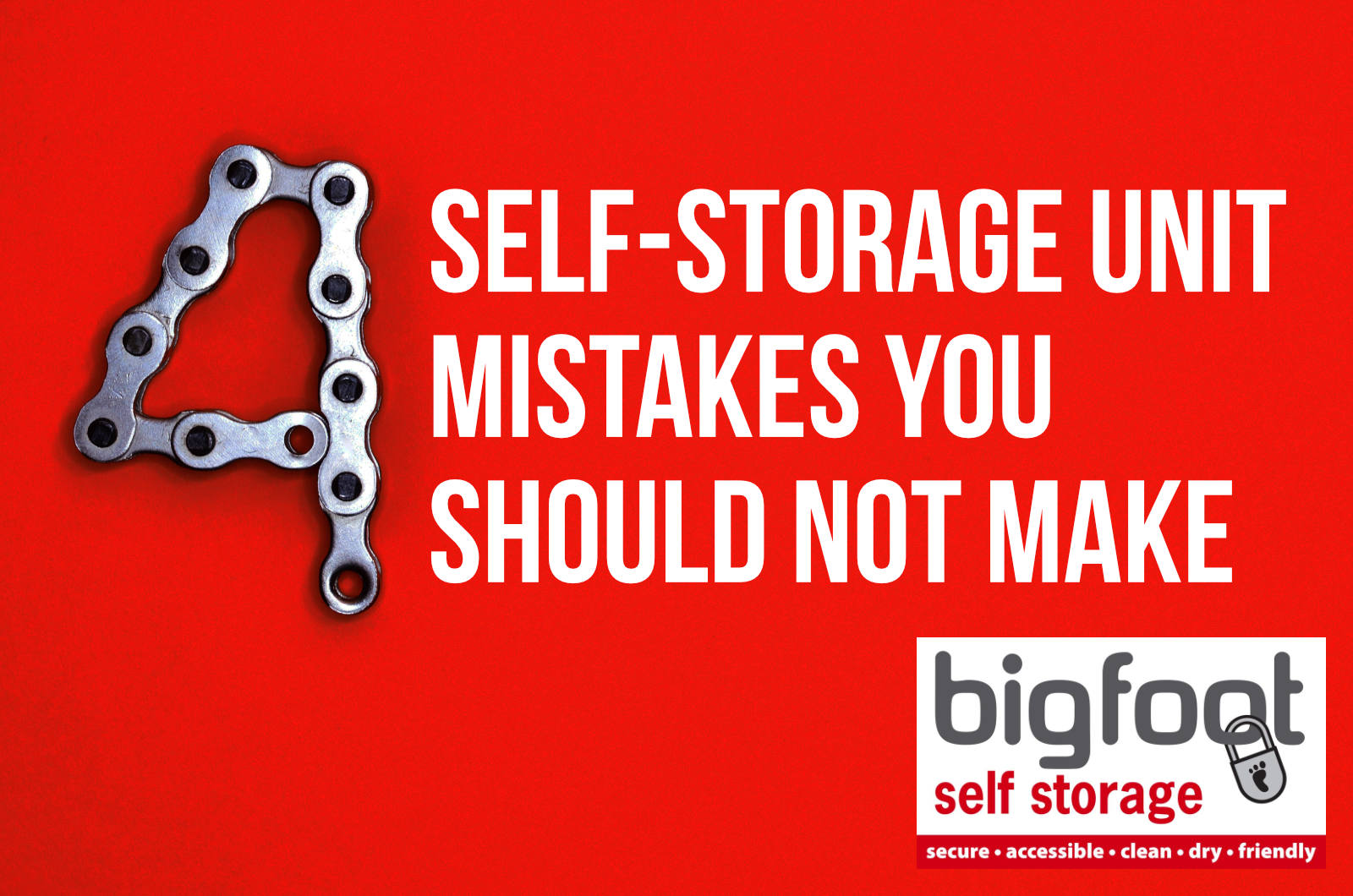 Self storage mistakes you should not make