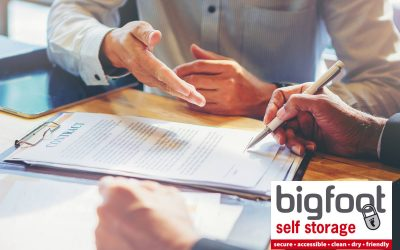 Self storage contracts – everything you need to know