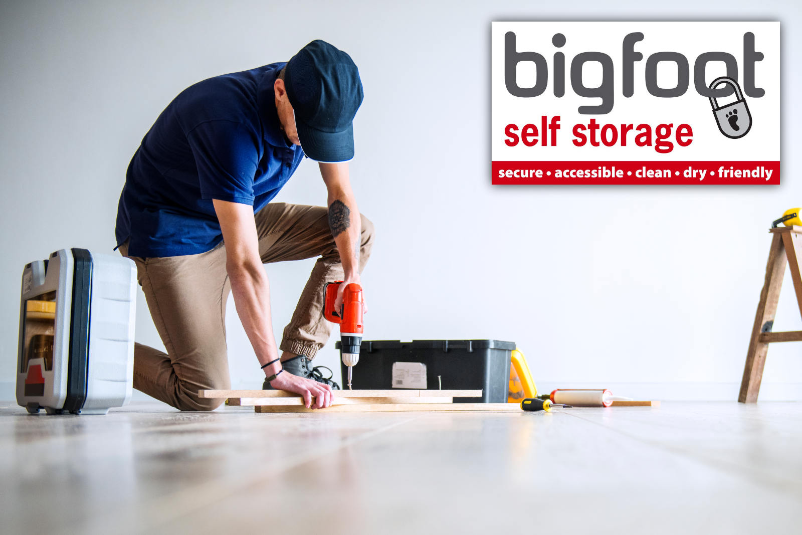 Self storage for home renovations