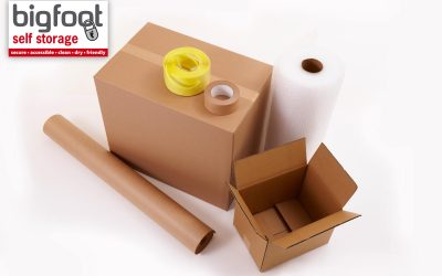 Packing supplies you need for self storage