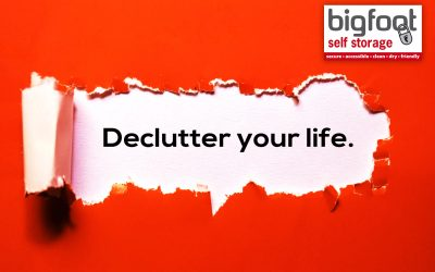 Self storage tips to declutter your home