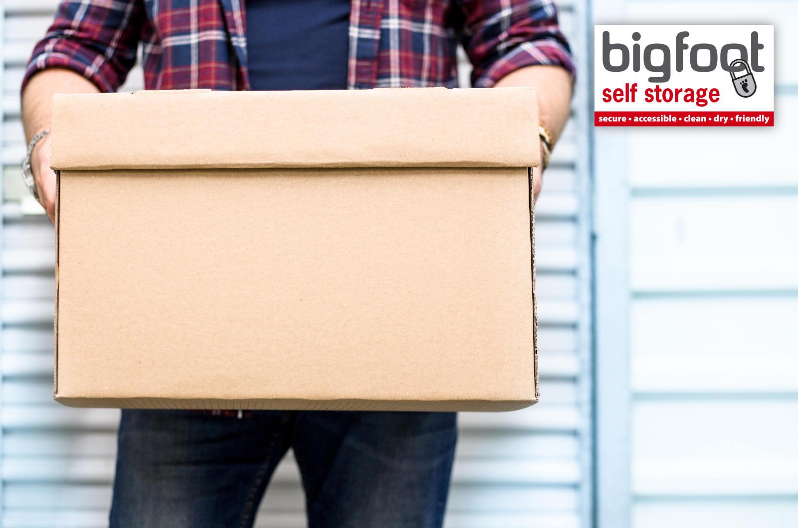 Ways to declutter your storage unit